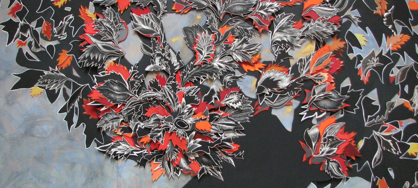 Peinture Autumn 20 Leaves de Rebecca Hayward